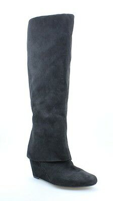 Jessica Simpson NEW Black Size 6M Cuff Cover Knee-High Boots $179 #457 DEAL