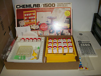 ChemLab 1500 Chemistry Set Skill Craft Over 1500 Experiments