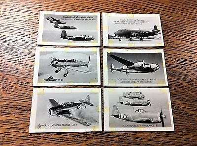 Original Vintage WW2 Aircraft Photos Lot of 6