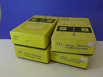 TDC Selectron Trays (4) - for Stereo Realist slide Projection - HM
