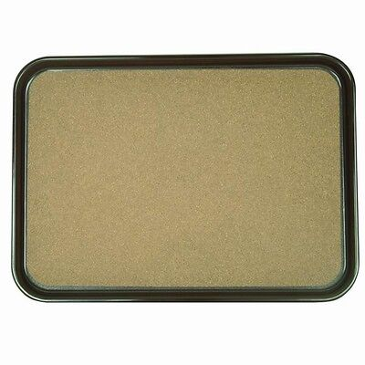 "1 PC Slip Resistant Serving Tray with Cork PLRT1612CK 16"" x 12"""