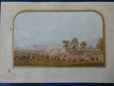 Baxter Oil Print of The Great Exhibition, 1851