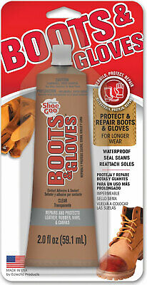 Shoe Goo Boots And Gloves Multipurpose Adhesive 2oz Specialty Glue