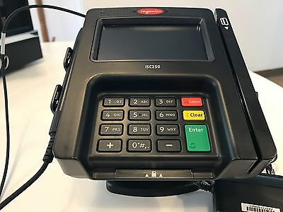 Unused INGENICO iSC250 Touch 250 POS Credit Card Terminal w Stylus FREE SHIPPING