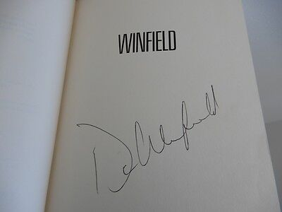 Winfield: A Player's Life by Dave Winfield 1st ed. SIGNED hardcover