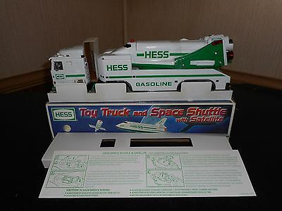 1999 Hess Toy Truck And Space Shuttle With Satellite Mintcondition