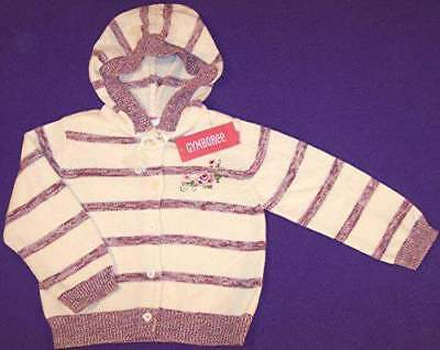 NWT Gymboree Girl's La Belle Epoque Hoodie Sweater Cardigan, 4