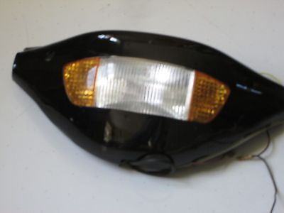 E Scooter 24V WF Head Light & Turn Signal W/Speedometer Panel Set IN BLACK