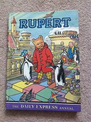 Rupert Daily Express Annual 1977 Excellent Condition