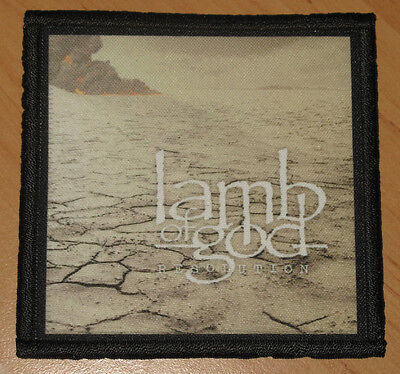"LAMB OF GOD ""RESOLUTION"" silk screen PATCH"