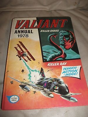 "Vintage "" Valiant Annual "" Dated 1978"