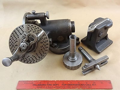 Very Nice Van Norman Rotary Indexing Dividing Head Machinist Lathe Milling