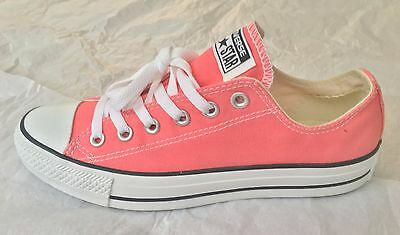 NEW Converse All Star Coral Chuck Taylor Canvas Shoes Sneakers Unisex M6 W8