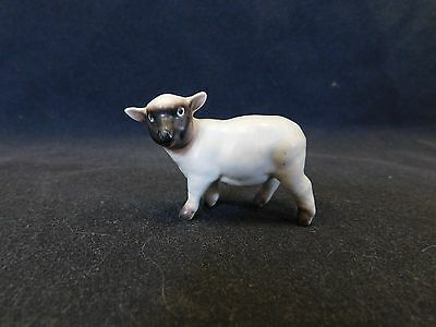 Hagen Renaker Ewe Sheep w/ Black Face & Legs Matte Finish