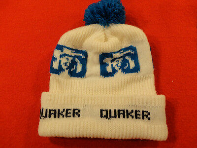 Vintage New Old Stock Quaker Oats Stocking Hat Cap No Reserve