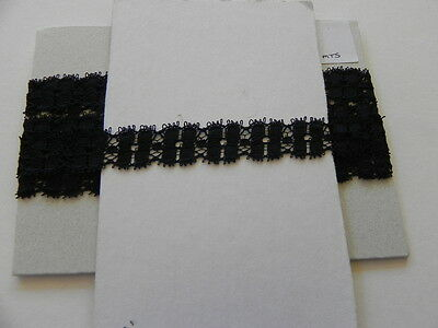 Card of New Lace - Black