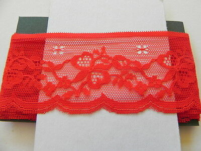 Card of New Lace - Red