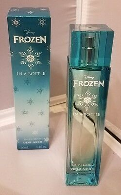 Disney Frozen In A Bottle 100 ml Eau De Parfum Geir Ness Perfume Fragrance - NEW