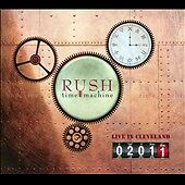 Time Machine 2011: Live in Cleveland [Digipak] by Rush (CD, 2011,2 Discs) SEALED