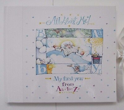 Hallmark All About Me Memory Baby Book Eric Disney My First Year from A to Z
