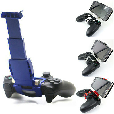 2016 New Smart Cell Phone Mount Clip Clamp Holder For PS4 Controller Portable