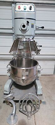 GLOBE SP40P-3 40 QT Bakery Pizza dough 3PH Planetary Mixer/bowl/Hook/beater/cage