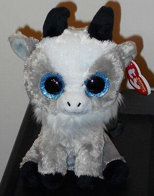 "Ty Beanie Boos ~ GABBY the 6"" Goat ~ Stuffed Plush Toy (NEW) 2017 PRE-SALE"
