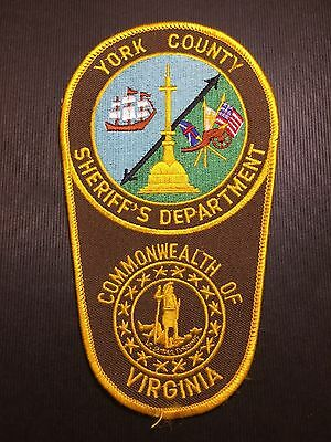 York County  Virginia Sheriff  Shoulder Patch