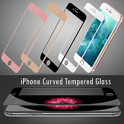3D Curved edge to edge Tempered glass screen protector for Apple Iphone 7/7plus