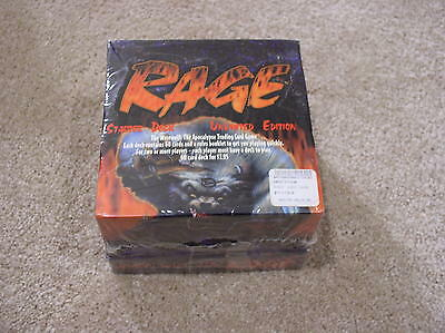 Rage Unlimited Edition Starter Deck box - sealed