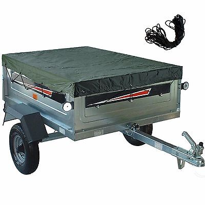 Value Trailer Cover Tailored Camping Towing X Large 2.6mx1.26m Fitted Universal
