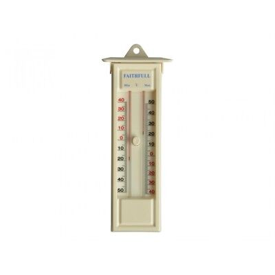 Faithfull FAITHMMBUTMF Press Button Max Min Thermometer