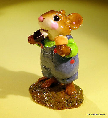 Wee Forest Folk M-261 DOUBLE DELIGHT- RETIRED 2005