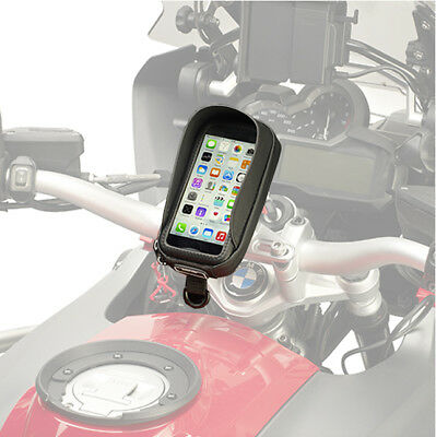 Givi S956B Motorcycle Waterproof Smart Phone GPS Holder Case iPhone/Samsung