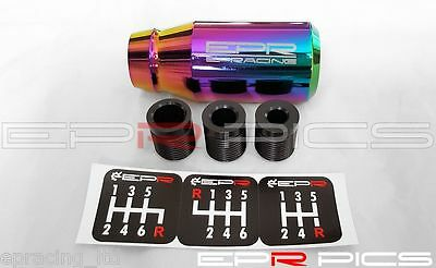 EPR Billet Gear Knob Neo Chrome For Honda Civic Integra Type R Accord CRX
