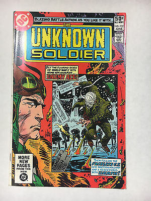 Unknown Soldier #252 VF/NM 1981 DC comic