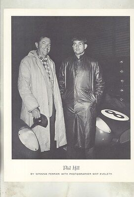 1956 Phil Hill Skip Eveleth Ferrari Nassau ORIGINAL Photograph Print ww8788