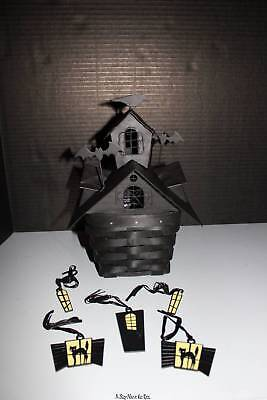 Longaberger Haunted House Tie On Set #24170 TIE ON'S ONLY - NEW