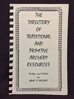 """RARE """"The Directory of Traditional and Primitive Archery Resources"""" (1996)"""