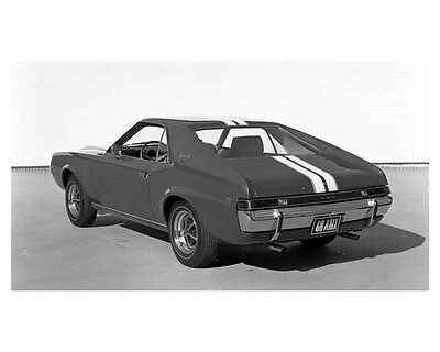 1968 AMC AMX ORIGINAL Factory Photograph Negative ouc2418