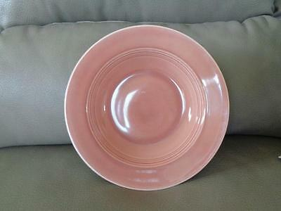 Vintage Homer Laughlin Harlequin Rose Deep Plate