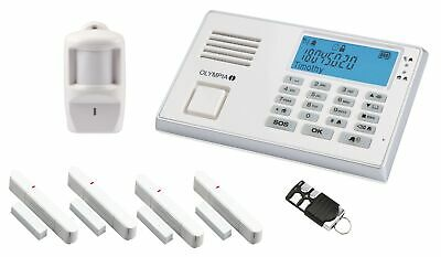 OLYMPIA Protect 9066 Smart GSM Funk Alarmanlage Set