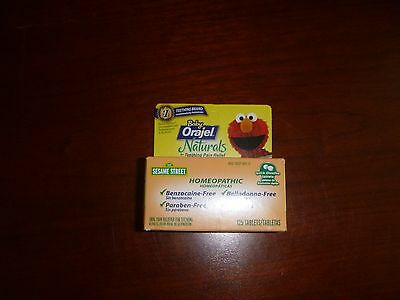 Baby Orajel Naturals Teething Pain Relief  Homeopathic 125 Ct See Description