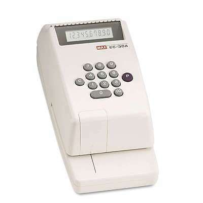Max® Electronic Checkwriter, 10-Digit, 4-3/8 x 9-1/8 x 3-3/4 093818000546
