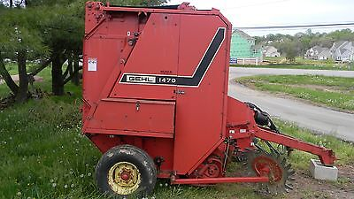 Gehl 1470 Round Baler Model Rb1470 Size 4X5 Works Well Used Last Season See Pics