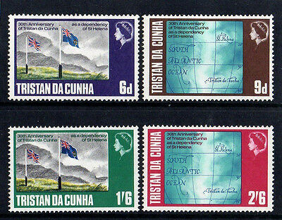Tristan Da Cunha 1968 Independence - Complete Set Of Stamps - Mint Not Hinged