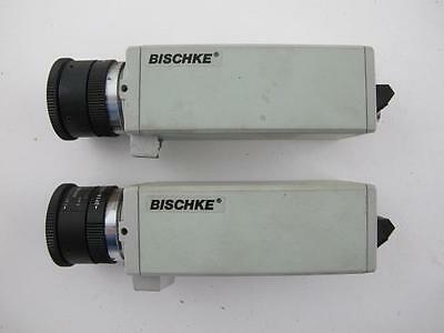 Lot of 2 Bischke CCD-30LN Security Surveillance CCTV Commercial Cameras Computar