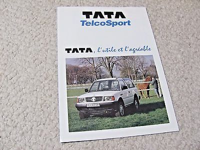 1994 Tata Telcosport (France) Sales Brochure.