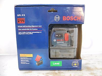 NEW Bosch 5-Point Self Leveling Alignment Laser GPL5S