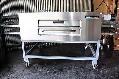 Lincoln Impinger PIZZA OVENS 3270-2 Gas Double Deck Conveyor Oven W/ Fastbake